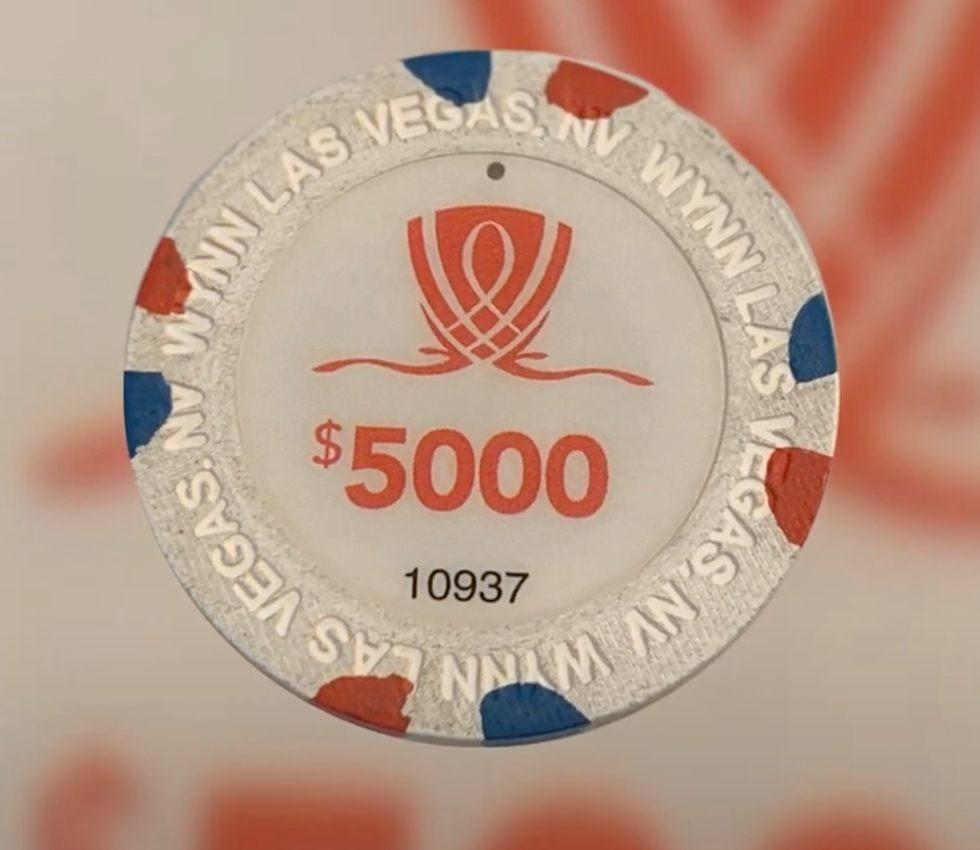 #3 - $5,000 Wynn Las Vegas Nevada