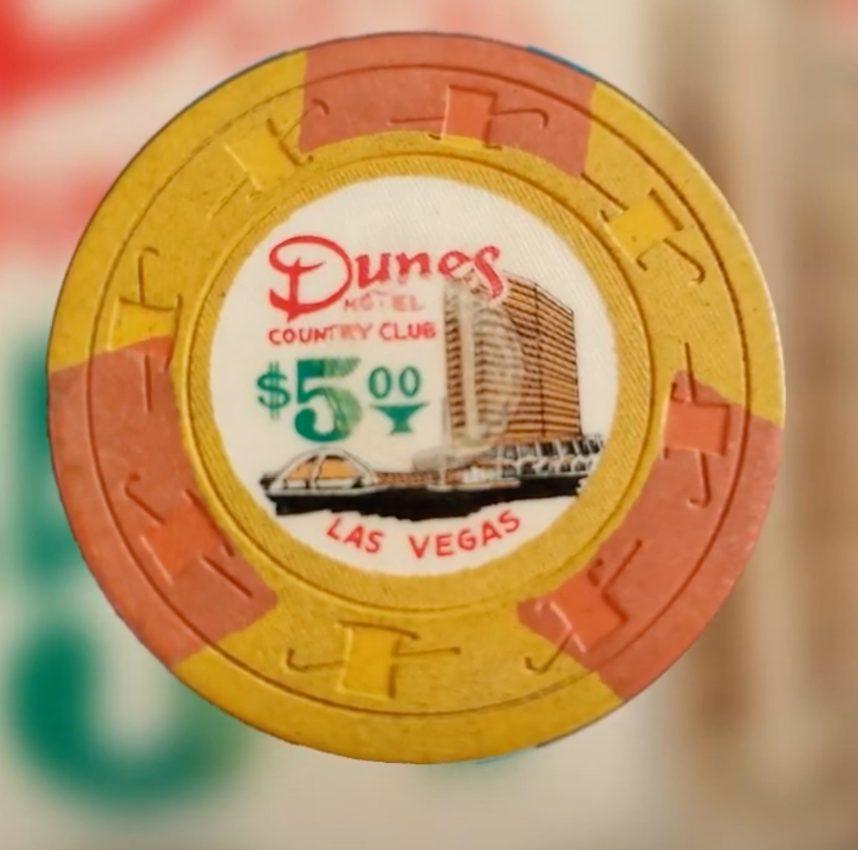 #4 - $5 Dunes Country Club Las Vegas Vintage