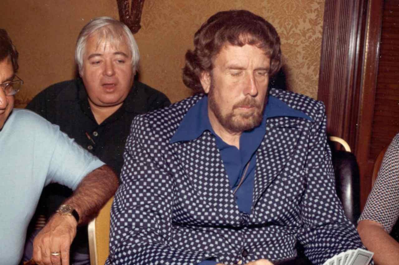 Jack Straus al tavolo da poker