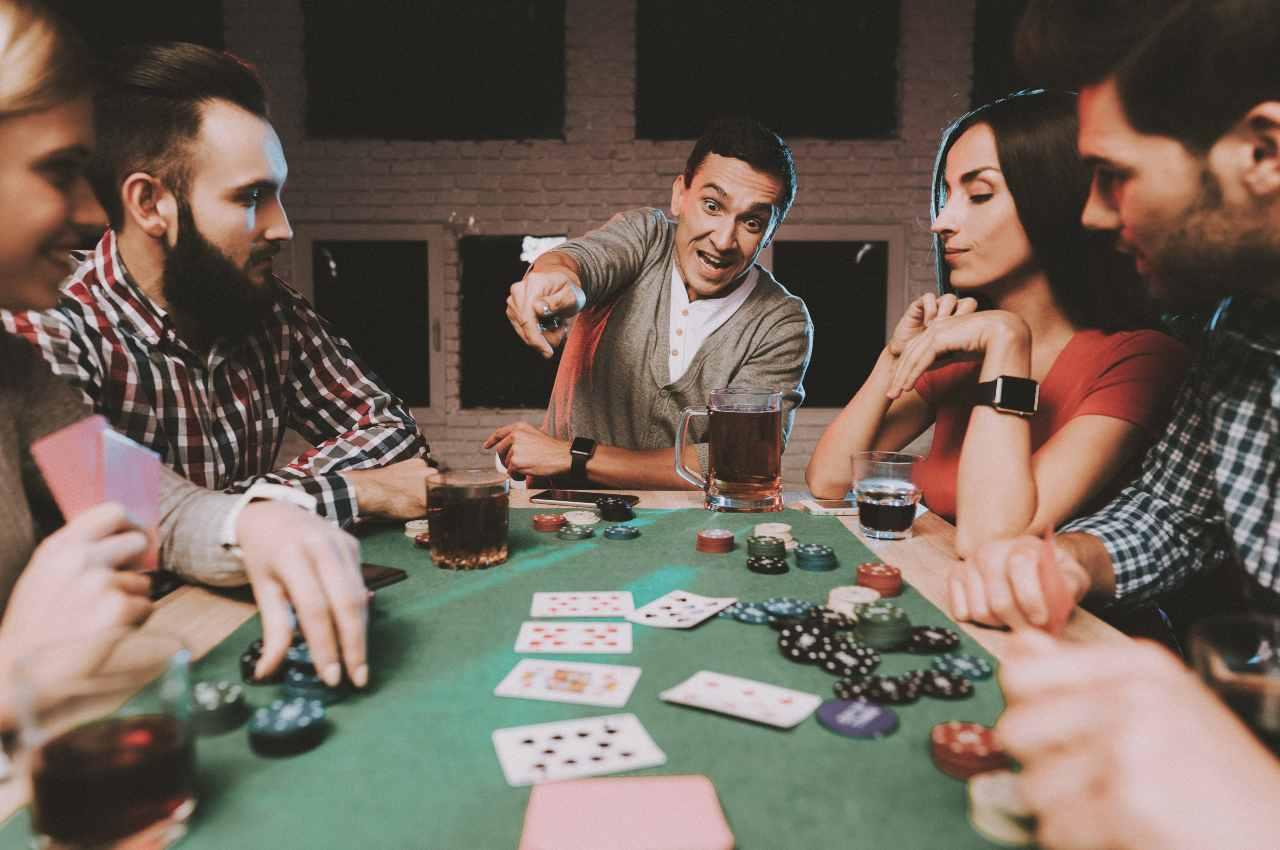 funny poker live