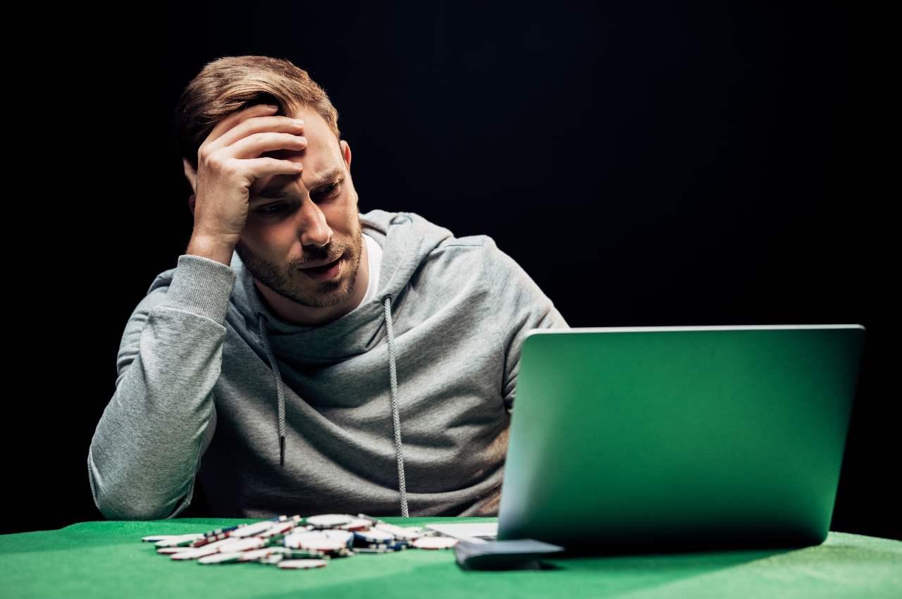 poker online player