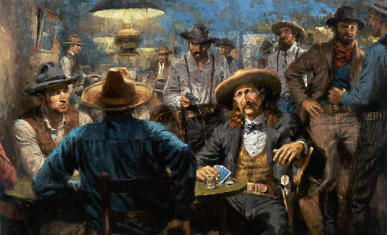 James Butler Hickok al tavolo da poker
