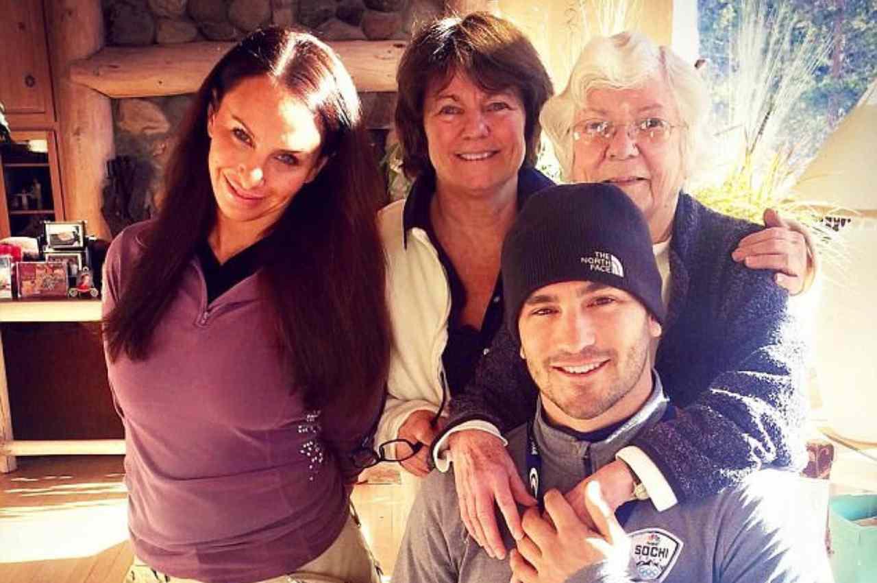 Molly Bloom con la famiglia