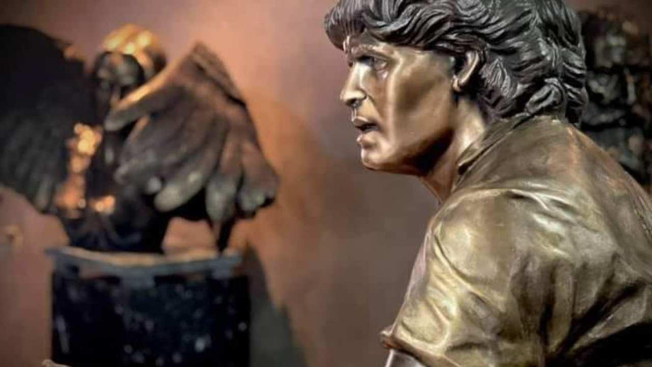 Statua Maradona