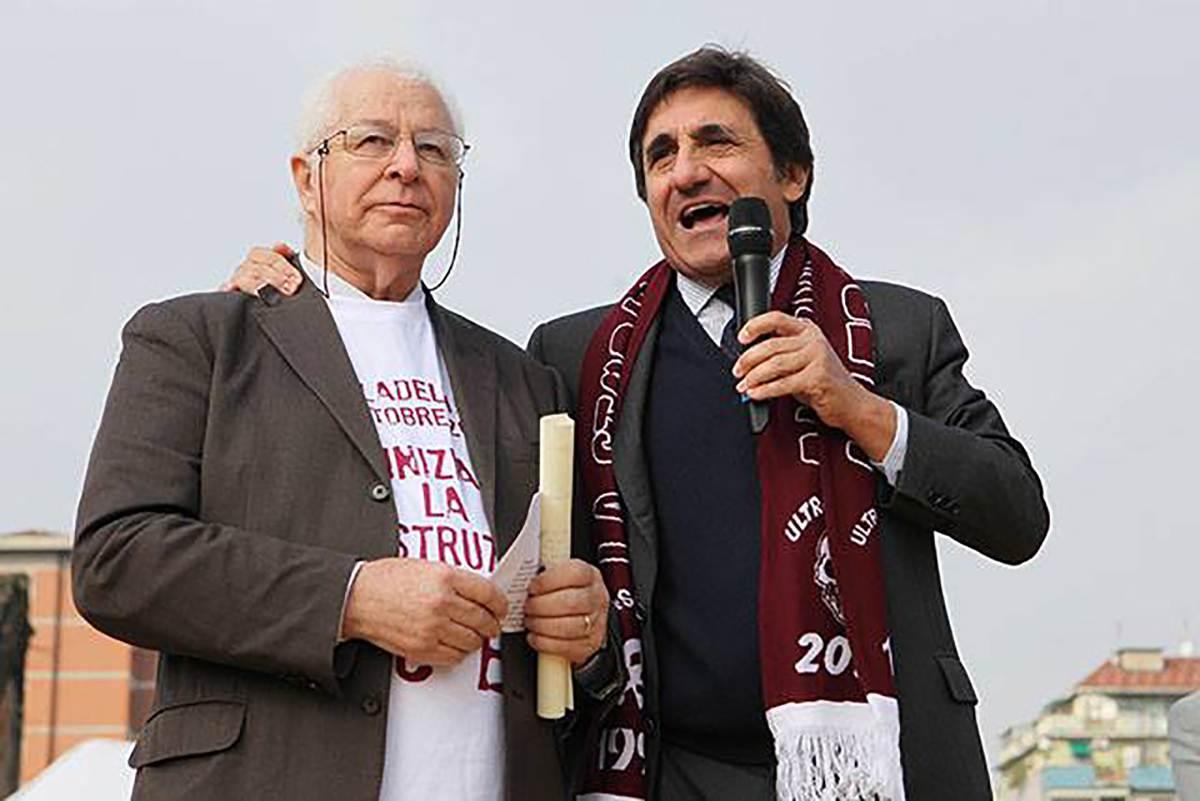 Salvadori e Cairo (facebook Torino Calcio)