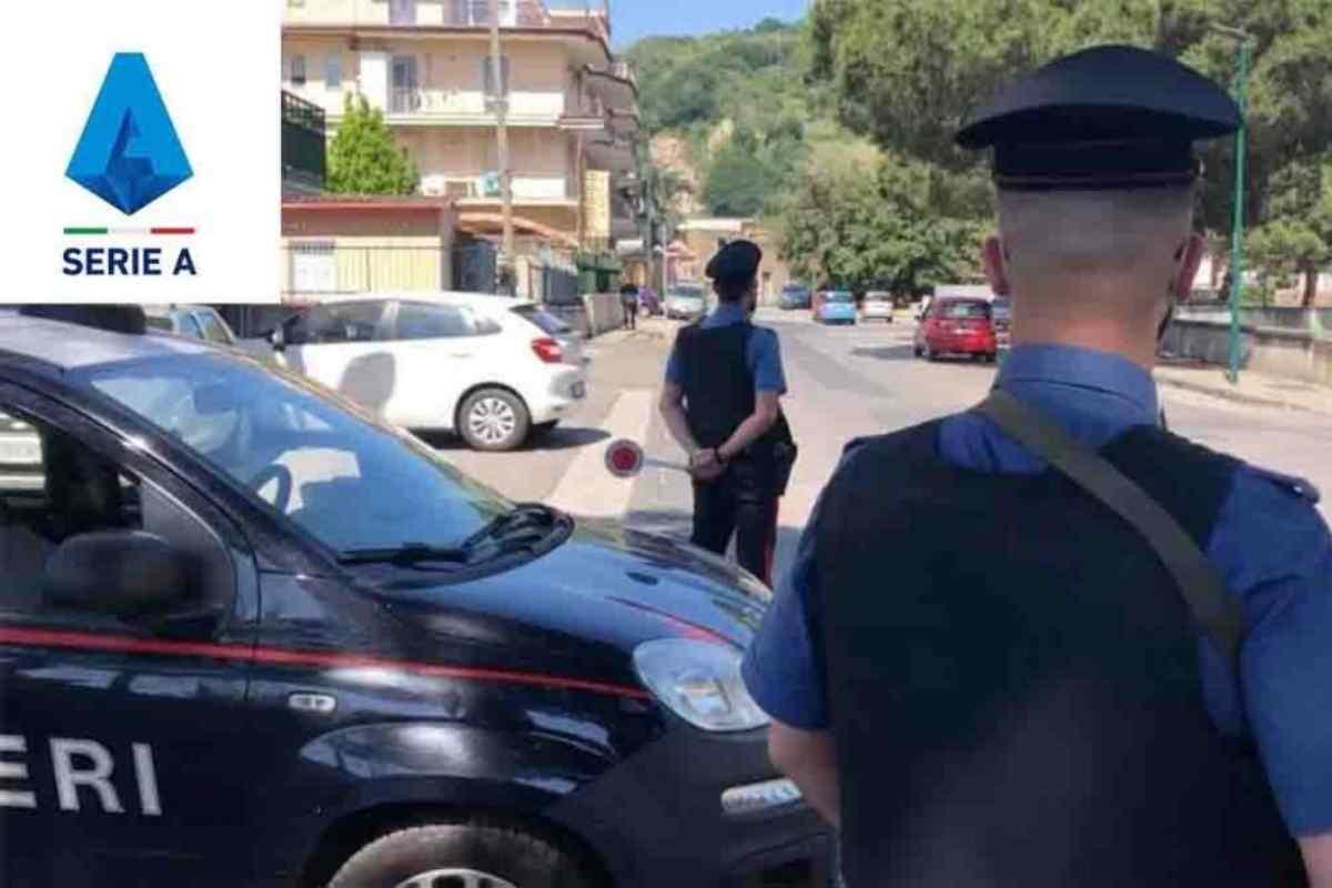 Serie A - Carabinieri (Instagram)