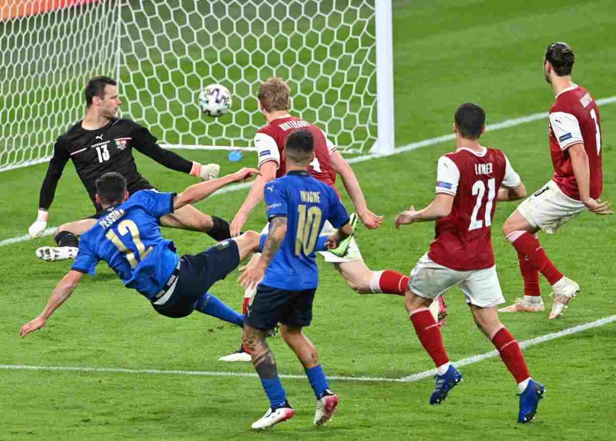 Italia-Austria 2-1 euro 2020 (instagram)
