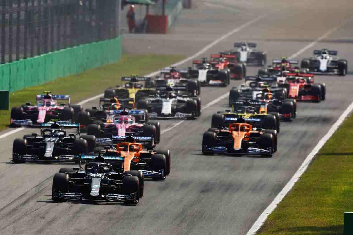Griglia di partenza F1 (Fonte foto: web)