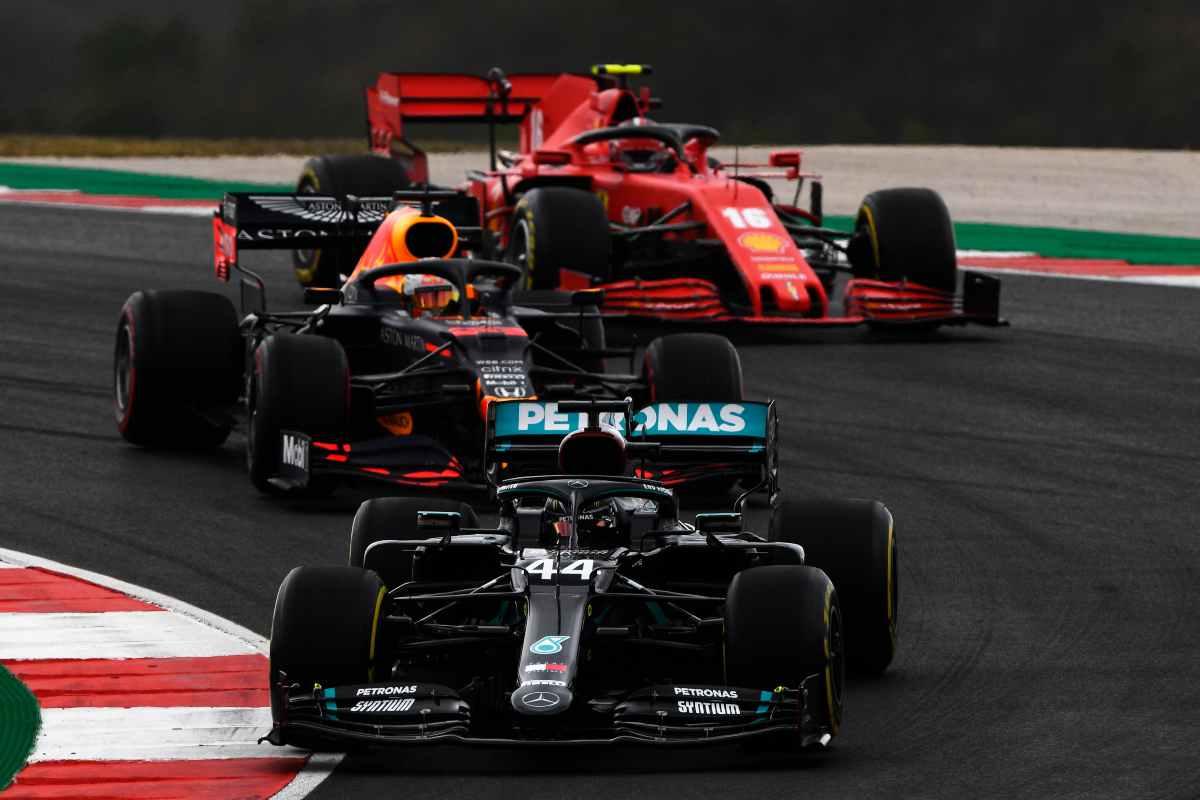 Ferrari, Mercedes e Red Bull (GettyImages)