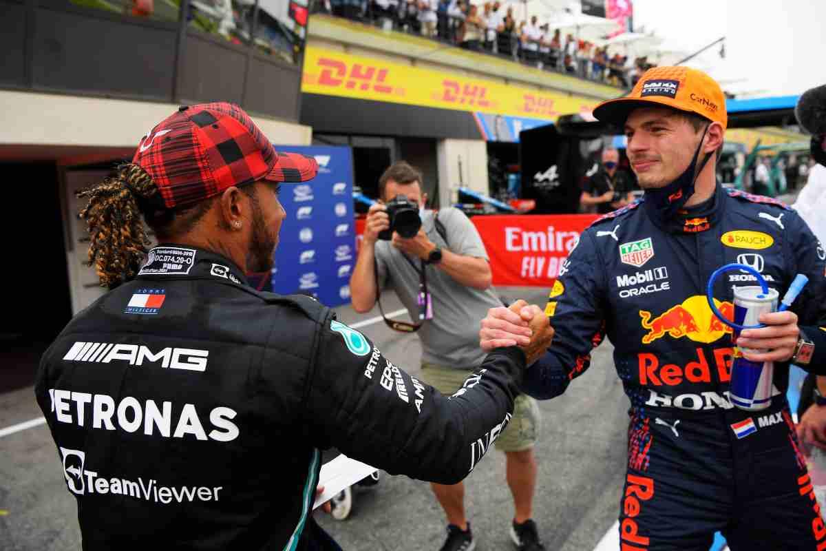 F1, Hamilton e Verstappen (GettyImages)