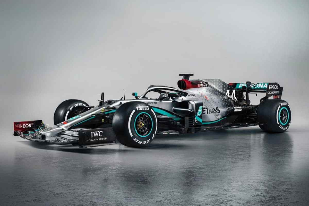 Mercedes F1 (Instagram)