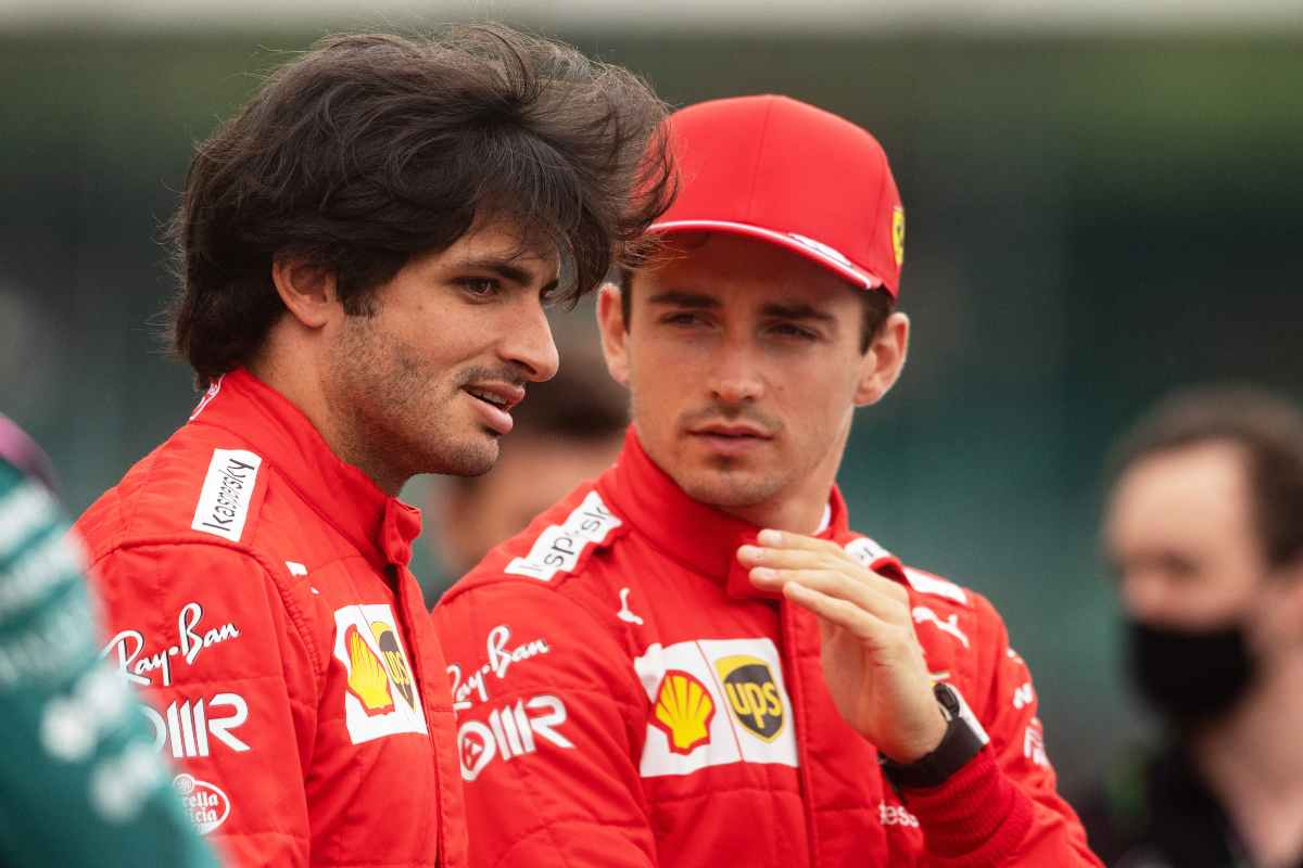 Piloti Ferrari, Sainz e Leclerc (GettyImages)